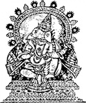 ganesha,success,hindu,mythology,religion,god,media,clip art,externalsource,public domain,image,png,svg