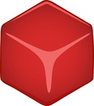 cube,block,abstract,red,media,clip art,public domain,image,png,svg