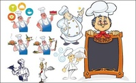 cook,cake,menu,chef,series,vector,material