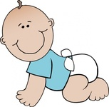 baby,crawling,remix,people,child,infant,boy,smiling,worldlabel,clip art,media,public domain,image,png,svg