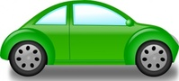 beetle,media,clip art,public domain,image,jpg,svg,car,green,traffic,street