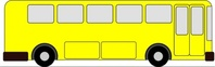 yellow,transportation,bus,media,clip art,how i did it,public domain,image,png,svg