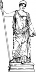 hera,ancient,greek,mythology,deity,goddess,sculpture,statue,drawing,line art,juno,media,clip art,externalsource,public domain,image,png,svg,wikimedia common,wikimedia common,wikimedia common,wikimedia common