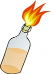 molotov,cocktail,clip art,remix,media,public domain,image,svg,fire,bottle,bomb,riot,petrol,petrol bomb