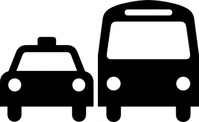 ground,transportation,symbol,sign,aiga no bg,map symbol,silhouette,black and white,car,bus,icon,media,clip art,externalsource,public domain,image,png,svg,aiga