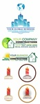 real,estate,construction,business,logo,house,template,material