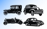 silhouette,transport,old,car,vintage,auto,automobile,black,bus,business-car,modern,transportation,travel,truck,van,vehicle,wheel,white