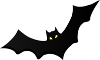 media,clip art,public domain,image,png,svg,cartoon,animal,bat,spooky,halloween