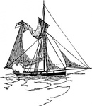 ship,torn,sail,maritime,sailing,transportation,cutter,media,clip art,externalsource,public domain,image,png,svg