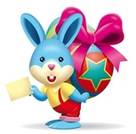 cute,bunny,brings,easter