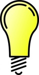 light,bulb,technology,media,clip art,public domain,image,svg