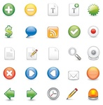 icon,containing,scalable,illustrator,format,set,web2,commonly,used,plus,minus,badge,money,comment,rss,tick,check,note,search,webcam,close,forward,backward,message,pencil,button,communication,internet,online,symbol,web 2.0,website