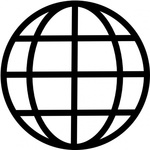 biodegradable,black and white,symbol,earth,globe,geography