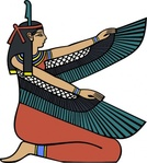 maat,media,clip art,externalsource,public domain,image,png,svg,egypt,goddess,egyptian,wing,winged