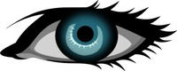 secretlondon,blue,remix,eye,left eye,human eye,clip art,media,public domain,image,svg