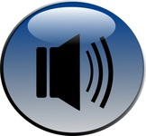 audio,speaker,glossy,icon,sound,color,cartoon,media,clip art,public domain,image,png,svg