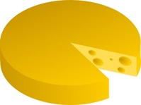 cheese,food,media,clip art,public domain,image,png,svg,dairy,dairy product,colour,yellow,no contour