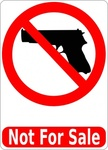 gun,sale,pistol,handgun,firearm,weapon,sign,anti,hoplophobia,media,clip art,public domain,image,png,svg