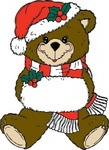 christmas,bear,media,clip art,externalsource,public domain,image,png,svg,animal,mammal,ursine,uspto,holiday,toy,stuffed,doll,teddy bear