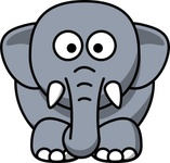 cartoon,elephant