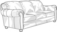 couch,furniture,clip