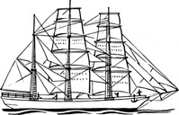bark,ship,maritime,sailing,sailship,drawing,coloring book,line art,black and white,contour,outline,wikimedia common,psf,wikimedia common