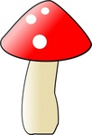 thilakarathna,mushroom,toadstool,food,poison,gardening,cartoon,media,clip art,public domain,image,png,svg