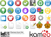kameo,icon,set,commonly,used,web,2.0,internet,play,refresh,file,format,folder,gear,setup,setting,go,bug,world,globe,atlas,plug,plug-in,colorful icon,web 2.0 icon