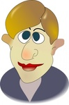 cartoon,face,people,man,person,portre,media,clip art,public domain,image,png,svg