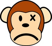 angry,monkey,clip