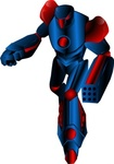 mechanical,warrior,transformer,toy,s_f,science_fiction,robot,droid,color,blue