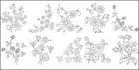 flower,type,line,drawing,diagram