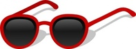 cartoon,sunglasses,sunglass,summer,red,gafas,gafas de sol,gafasdesol