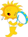 playing,drum,media,clip art,how i did it,public domain,image,png,svg,mascot,comic,sun,human,music,yellow,instrument,tambourine