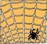 spider,remix problem,web,spooky,halloween,insect,uspto