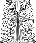 acanthus,leaf,line art,greece,ancient,ornament,media,clip art,externalsource,public domain,image,png,svg