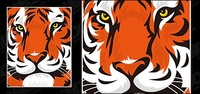 featured,tiger,head,material