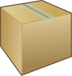 package,box,cardboard,packaging,icon,media,clip art,public domain,image,png,svg