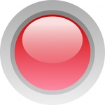 circle,button,glossy,round,red,media,clip art,public domain,image,svg