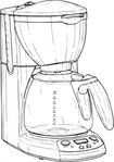 coffee,maker,media,clip art,externalsource,public domain,image,png,svg,coffee maker,beverage,appliance,household,kitchen,uspto
