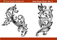 hand,drawn,floral,ornament,ornament,ornament