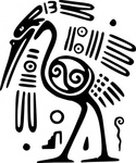 ancient,mexico,motif,bird,art,media,clip art,externalsource,public domain,image,png,svg