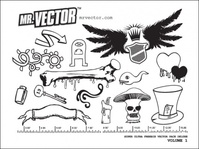 super,ultra,deluxe,volume,1,shield,wing,bone,hat,scary,mushroom,key,heart,freebie,vector,pack,with,wing,bone,key,wing,bone,key