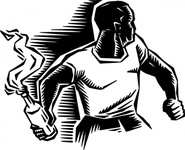 person,molotov,cocktail,media,clip art,externalsource,public domain,image,png,svg,people,man,weapon,riot,fire,radical graphics