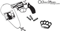 object,tough,guy,weapon,gun,equipment,revolver,necklace,four,finger,dollar,bill,object,tough,object,tough