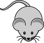 simple,cartoon,mouse,animal,mammal,colour,media,clip art,how i did it,public domain,image,png,svg