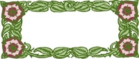 floral,frame,media,clip art,public domain,image,png,svg,flower,border,leaf