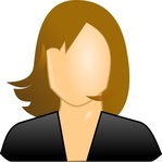 female,user,icon,people,face,faceless,hair,woman,black,girl,sign,cartoon
