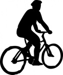 bicyclist,sillouette,bicycle,bike,silhouette,bike rider,transit,transportation,commute,media,clip art,public domain,image,png,svg