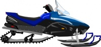 snowmobile,vehicle,blue,media,clip art,public domain,image,png,svg